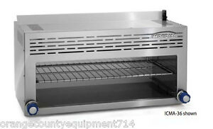 New 36 Cheese Melter Imperial Icma 36 4586 Restaurant Nacho Fish Broiler Nsf