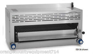 New 36 Salamander Broiler Imperial Isb 36 4577 Commercial Cheese Melter Nsf