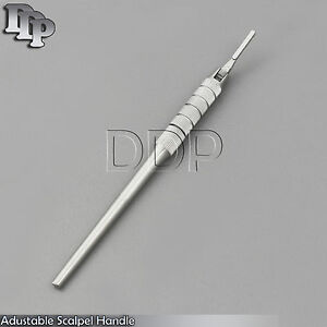 4 Round Pattern Adjustable 7 Ways Scalpel Handle 3 Surgical Dental Implants