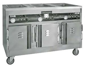 Seco Hot Food Serving Cart Cw3