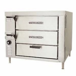 Bakers Pride Hearthbake Gp 51 Single Counter Top Pizza And Baking Gas Oven 32 5