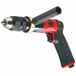 Chicago Pneumatic 1 2 Reversible Pistol Grip Drill Keyless Chuck Cp9791c