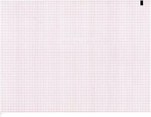 Ecg Paper 210mm X 300mm X 250sheet works For Phillips honeywell Stress Pk 10