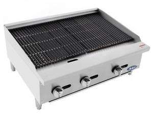 New 36 Radiant Charbroiler Grill Atosa Atrc 36 2541 Commercial Restaurant Nsf