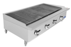 New 48 Radiant Charbroiler Grill Atosa Atrc 48 2542 Commercial Restaurant Steak