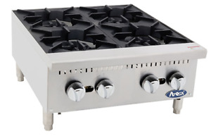 New 24 Hot Plate Cook Top Range Atosa Athp 24 4 2547 Commercial Stove Burner