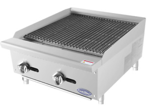 New 24 Radiant Charbroiler Grill Atosa Atrc 24 2540 Commercial Restaurant