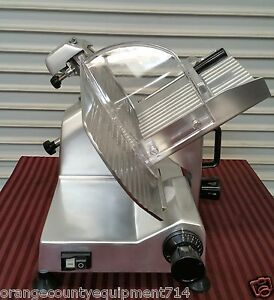 New 12 Manual Deli Slicer Uniworld Sl 12e 2591meat Cheese Commercial Slicing