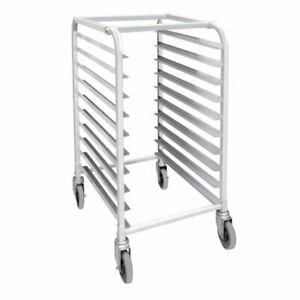 New 10 Sheet Pan Bakery Cart Rack 2052 Full Size Tray 1 2 Height Nsf Cookie