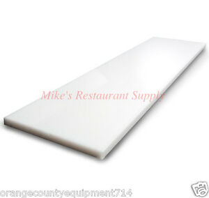 New 36 x8 Cutting Board For Prep Table 1176 Pizza Sandwich Commercial Nsf
