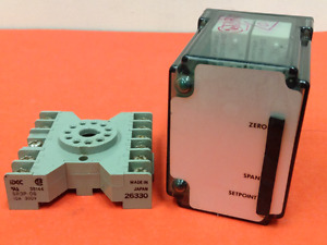Action Pak Model 1200 6356 Relay Dpdt With 11 pin Base