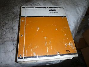 Case Service Manual 450 Crawler Dozer Form No 9 72334