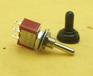 50set Waterproof Momentary Mini Toggle Switch on off on 3pin 3a 250v 5a 125v