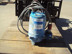 Goulds Pump Ws0534bf Submersible Hp 1 2 Rpm 1725 Used