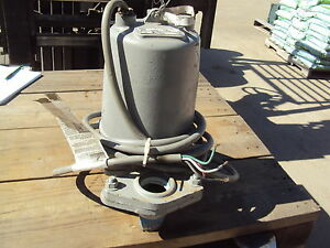 Goulds Pump Wso534bf Hp 1 2 Rpm 1725 Used
