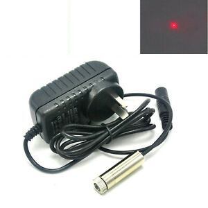 50mw 650nm Red Focusable Dot Laser Diode Module W 5v Adapter
