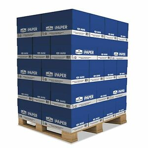 Copy Paper Printing White 8 1 2 X 11 200 000 Total Sheets 40 Case Pallet New