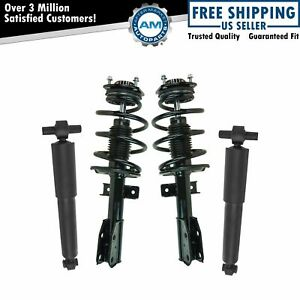 Front Rear Loaded Complete Strut Assembly Shock Absorber Kit 4pc For Acadia
