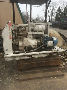 Gardner Denver Ebhohb Rotary Screw Air Compressor 40hp 125psi 460v 60hz 3ph