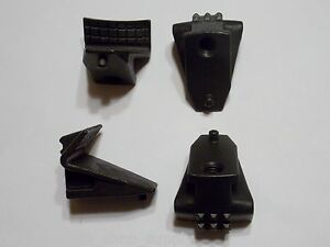 Rim Clamp Tire Changer Jaws Set Of 4 New 5060 Coats 181677