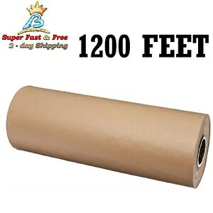 Kraft Paper Roll 24 Sheets For Packaging Wrap Wrapping Cushioning Shipping New