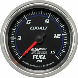 Autometer Fuel Pressure Gauge Gas New 7911