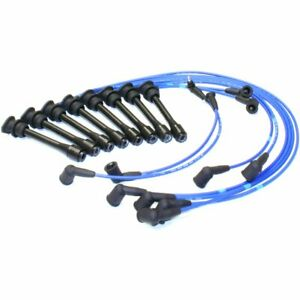 Ngk Set Of 8 Spark Plug Wires New For Lexus Ls400 Sc400 1995 1997 Te119 6401