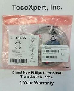 hp Philips Ultrasound M1356a Transducer 549 Lifetime Warranty brand New
