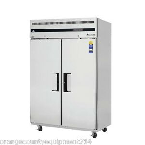 New 2 Door Upright Reach In Freezer Everest Esf2 4196 Stainless Steel Commercial