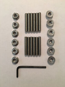 Mopar Big Block V8 Stainless Steel Valve Cover Stud Kit And Wrench 1 5 Long
