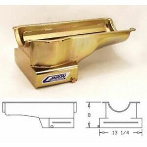 Canton 15 710 Street Strip Wet Sump Oil Pan For Ford 351 Cleveland