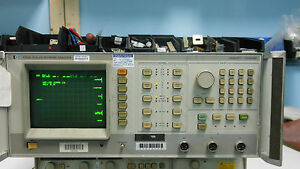 Hp8756a Scalar Network Analyzer Display
