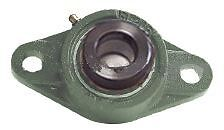 Hcfl208 25 2 Bolts Flanged Housing Mounted Bearing With Eccentric Collar 1 9 16