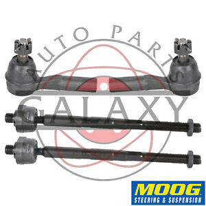 Moog New Replacement Inner Outer Tie Rod Ends For Jeep Grand Cherokee 2005 10