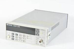 Hp Agilent 53181a Frequency Counter 225mhz 10 Digit 010 Oven