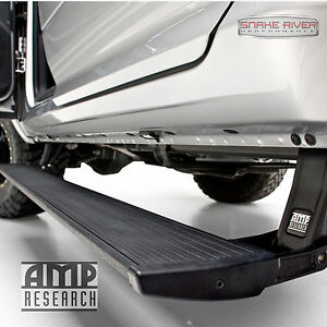 Amp Research Powerstep Retractable Side Step 2015 2017 Ford F150 Plug N Play