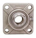 Ssucf205 16 Stainless Steel 4 bolt 1 Inch Bore Id Flanged Mounted Ball Bearing