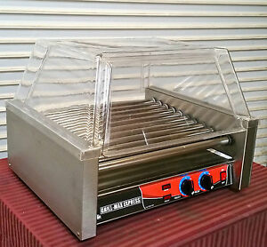 New Hot Dog Roller Grill Max Express Star X30s Cover Nsf 3289 Commercial Display
