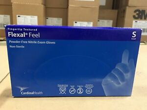 Cardinal Health Flexal Feel Nitrile Exam Gloves Case Of 2000