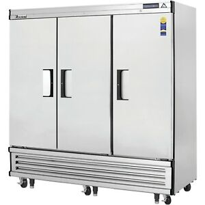 New 3 Door Reach In Refrigerator Cooler Everest Ebr3 3104 Commercial Restaurant