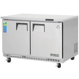 New 48 2 Door Under Counter Freezer Everest Etbf2 3112 Commercial Nsf