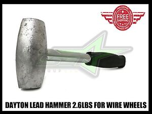 Lead Hammer 2 6 Lbs Dayton Type Wire Wheels Adapter Knock Off Luxor Og Zenith