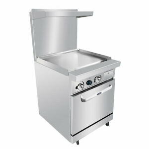 New 24 Griddle Range Gas Oven Atosa Ato 24g 6036 Commercial Restaurant Nsf