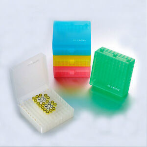 0 5ml 1 5ml 2ml Microcentrifuge Tube Plastic Freezer Box Storage Box 20 case