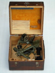Marine Ships Russian Cho M Nautical Sno M Sextant With Accessories