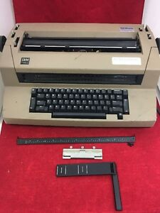 Ibm Correcting Selectric Iii Typewriter See Description