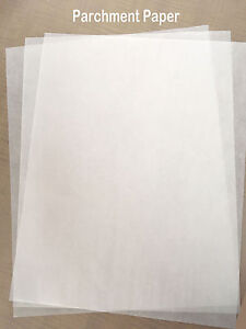 16 X 12 Silicone Parchment Paper For Heat Press Transfer Made In Europe 100pcs