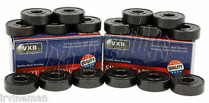 16 Roller Skate Black Bearings With Bronze Cage And Black Seals 8x22x7 Mm Cool