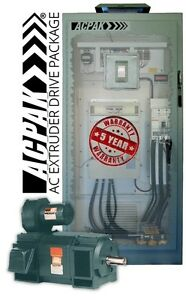 Ac Extruder 150hp Drive Motor Package