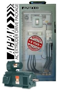 Ac Extruder 500hp Drive Motor Package